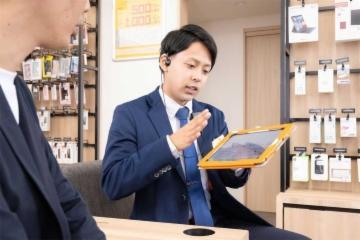auショップ山口葵 株式会社ミッドフォーの画像・写真
